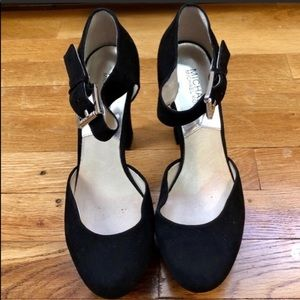 Authentic Michael Kors Mary Jane Suede Pumps